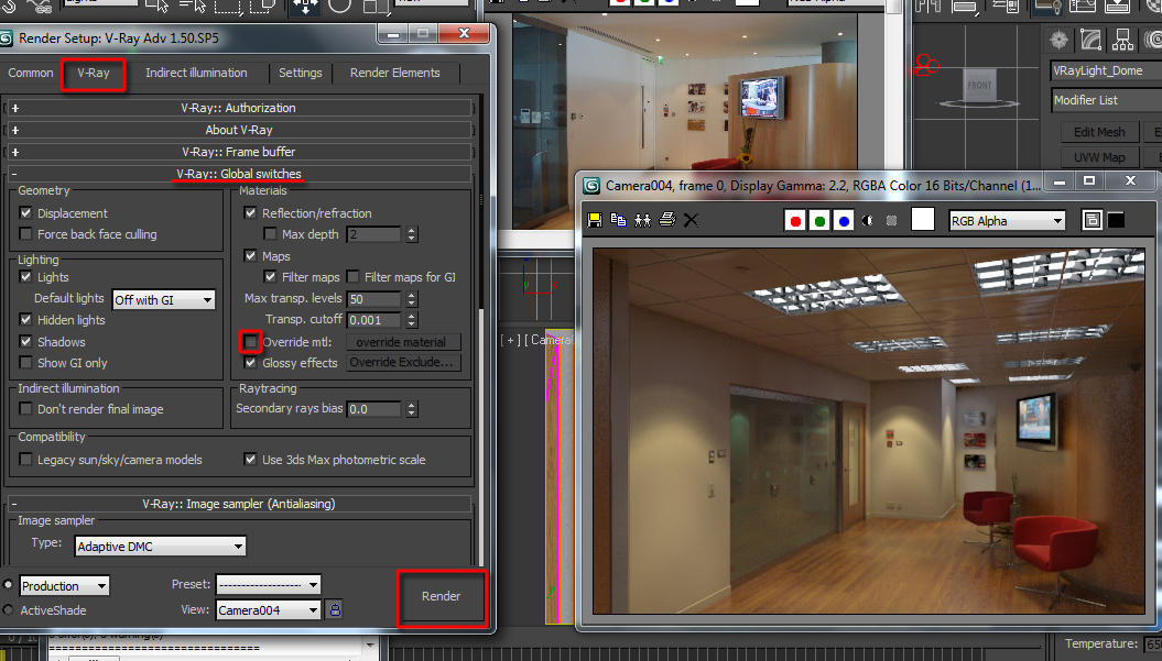 3d realism with 3d studio max v ray lighting and for Studio max 3d