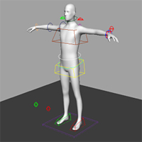 Building A Complete Human Character Rig In Maya, Global Control and Skinning – Tuts+ Premium