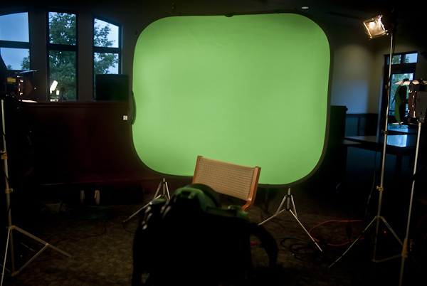 Setting Up a Green Screen