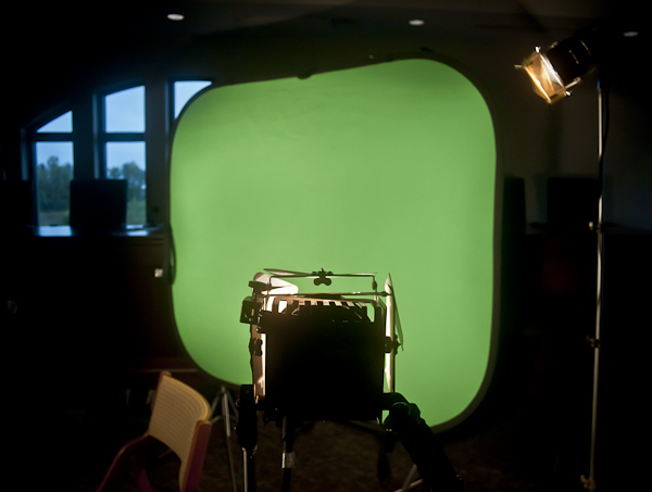 Lighting a Green Screen