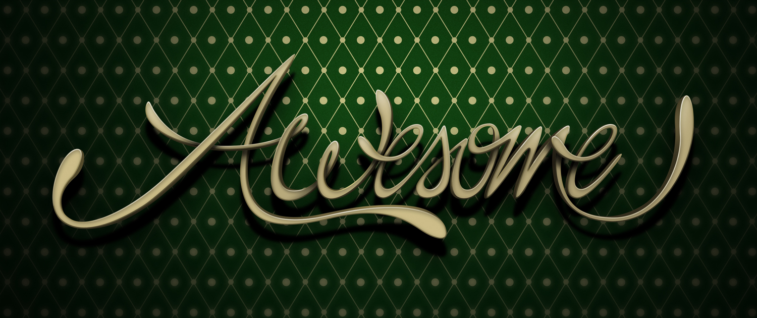 Create awesome 3d style lettering in photoshop 3d lettering typography adobe photoshop tutorial baditri Choice Image