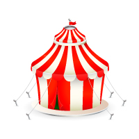Create a Cute Circus Tent Icon with Adobe Illustrator – Tuts+ Premium Tutorial
