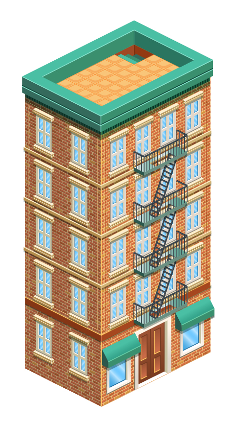 Link toCreate a detailed isometric building in adobe illustrator – tuts+ premium tutorial