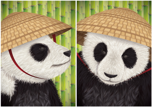 Link toCreate a kung fu panda diptych in adobe illustrator cs5 - tuts+ premium tutorial