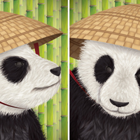 Create a Kung Fu Panda Diptych in Adobe Illustrator CS5 – Tuts+ Premium Tutorial