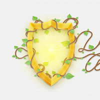 Create a Golden Shield Illustration with Ivy Text Effect &#8211; Tuts+ Premium Tutorial