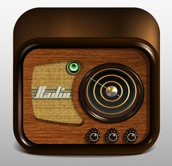 Link toCreate a radio app icon using adobe illustrator - tuts+ premium tutorial