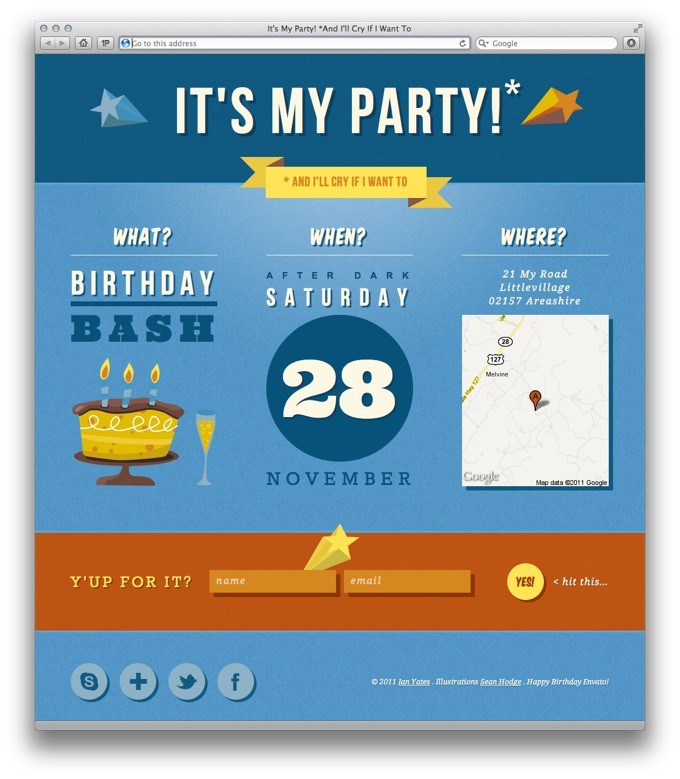 Free Party Vector Graphics