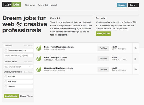 Tuts Jobs
