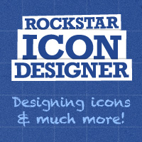 Preview for New Book: Rockstar Icon Designer