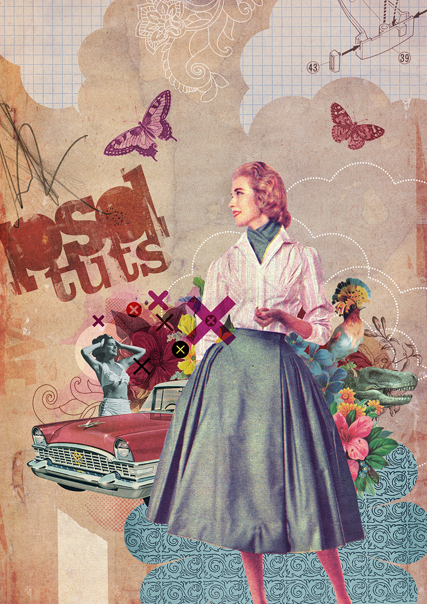 Recycle Vintage Images To Create A Photoshop Collage