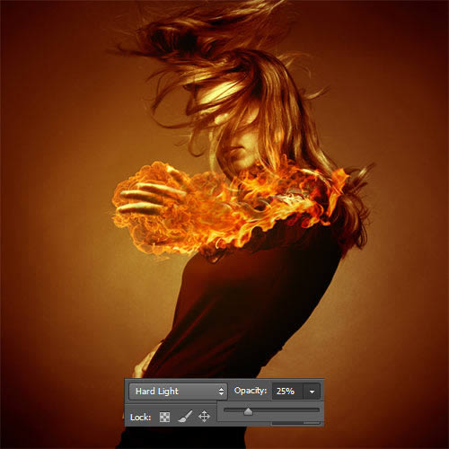vector screen: Create Fire Lighting Effects Using ...