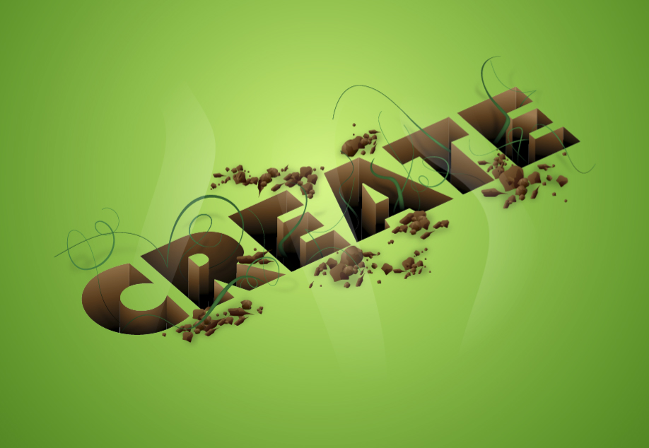 Learn how to create a retro 3d text effect 123rf.