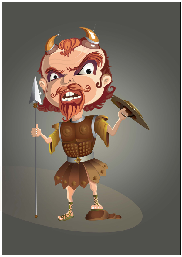 Link toMaking of a warrior character in illustrator - tuts+ premium tutorial